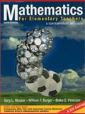 Mathematics for Elementary Teachers : A Contemporary Approach, Musser, Gary L. and Burger, William F., 0471164259