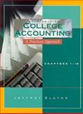 College Accounting 1-10, Slater, Jeffrey, 0133634256