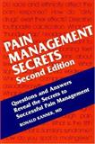 Pain Management Secrets, Kanner, Ronald M., 1560534257