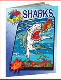 3-D Coloring Book--Sharks, George Toufexis and Coloring Books Staff, 0486484262