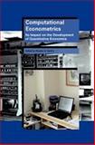 Computational Econometrics 9781586034269