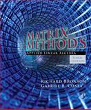 Matrix Methods : Applied Linear Algebra, Bronson, Richard and Costa, Gabriel B., 012374427X