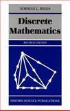 Discrete Mathematics, Biggs, Norman L., 0198534272