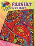 3-D Coloring Book--Paisley Designs, Marty Noble, 0486484270