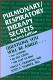 Pulmonary/Respiratory Therapy Secrets, Parsons, Polly E. and Heffner, John E., 1560534273