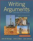 Writing Arguments : A Rhetoric with Readings, Brief Edition, Ramage, John D. and Bean, John C., 0321964276