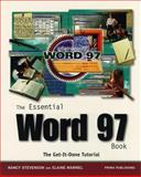 The Essential Word 97 Book, Stevenson, Nancy and Marmel, Elaine J., 0761504273