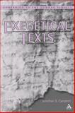 The Exegetical Texts, Jonathan G. Campbell, 0567084272