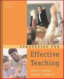 Strategies for Effective Teaching, Ornstein, Allan C. and Lasley, Thomas J., 0072564288