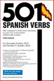 501 Spanish Verbs, Christopher Kendris and Theodore Kendris, 0764124285