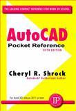 AutoCAD Pocket Reference, Shrock, Cheryl R., 0831134283