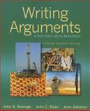 Writing Arguments : A Rhetoric with Readings, Ramage, John D. and Bean, John C., 0321964284