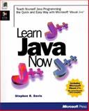 Learn Java Now, Davis, Stephen R., 1572314281