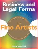 Business and Legal Forms for Fine Artists, Tad Crawford, 1581154283