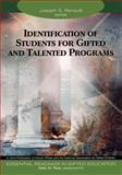Identification of Students for Gifted and Talented Programs, , 1412904285