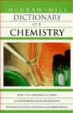 Dictionary of Chemistry, McGraw-Hill Staff, 0070524289