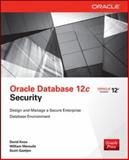 Oracle Database 12c Security, Knox, David and Maroulis, William, 0071824286