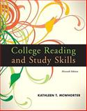 College Reading and Study Skills, Mcwhorter and McWhorter, Kathleen T., 0205784283