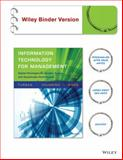 Information Technology for Management, Efraim Turban and Linda Volonino, 1118994299