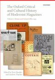 The Oxford Critical and Cultural History of Modernist Magazines : Volume I: Britain and Ireland 1880-1955, Brooker, Peter and Thacker, Andrew, 0199654298