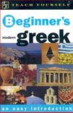 Teach Yourself Beginner's Greek, Aristarhos Matsukas, 0071384294