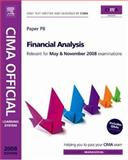 CIMA Official Learning System Financial Analysis, Gowthorpe, Catherine, 0750684291