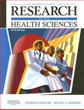 Introduction to Research in the Health Sciences, Polgar, Stephen and Thomas, Shane A., 0443074291