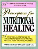 Prescription for Nutritional Healing, James F. Balch and Phyllis A. Balch, 089529429X