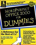 WordPerfect Office 2000 for Dummies, Julie Adair King, 0764504290