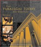 West's Paralegal Today : The Essentials, Miller, Roger LeRoy and Urisko, Mary Meinzinger, 1401824293