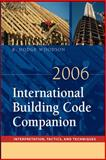International Building Code Companion 2006, Woodson, R. Dodge, 0071484299