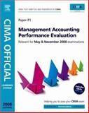 CIMA Learning System Management Accounting : Performance Evaluation, Scarlett, Robert, 0750684305