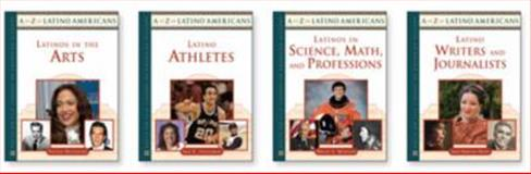 A to Z of Latino Americans Set, 4-Volumes, David E. Newton, Steven Otfinoski, Jamie Martinez Wood, Ian C. Friedman, 0816074313
