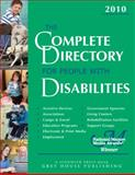 Complete Directory for People with Disabilities 2010, Laura Mars, House Grey, 159237431X