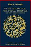 Game Theory for the Social Sciences, Moulin, Herve, 0814754317