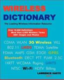 Wireless Dictionary, Lawrence Harte, 0974694312