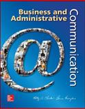Business and Administrative Communication with Gregg Reference Manual, Locker, Kitty and Kienzler, Donna, 1259184315