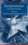 Europeanization : New Research Agendas, Graziano, Paolo, 0230204317