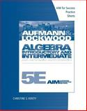 Algebra : Introductory and Intermediate - An Applied Approach, Aufmann, Richard N. and Lockwood, Joanne, 0840064314