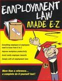 Employment Law Made E-Z, Goldstein, Valerie Hope, 1563824310