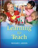 Learning to Teach, Arends, Richard, 0078024323
