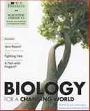 Scientific American Biology in a Changing World and BioPortal Acces Card, Shuster, Michele, 1429294329