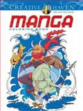 Creative Haven Manga Coloring Book, Mark Schmitz, 0486494322