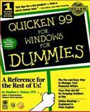 Quicken 99 for Dummies, Stephen L. Nelson, 0764504320