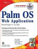 Palm OS Web Application Developers Guide : Including PQA and Web Clipping, Combee, Ben, 1928994326
