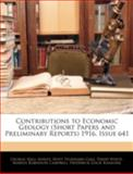 Contributions to Economic Geology 1916, Issue 641, George Hall Ashley and Hoyt Stoddard Gale, 1144774330