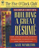 Building a Great Resume 9781564144331