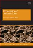 Economics of Ancient Law, Geoffrey P. Miller, 1848444338