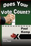 Does Your Vote Count?, Paul Kemp, 1550024337