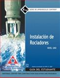 Sprinkler Fitter Spanish Level 1, 2007 NFPA Revision Trainee Gide, Perfect Bound, NCCER, 0136144330